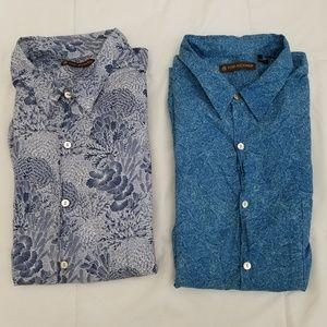 Tori Richard Hawaiian Shirt Lot of 2 Mens 3XL